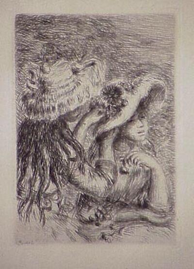 Pierre-Auguste Renoir, 'Le chapeau épinglé, in Renoir et ses amis', 1894