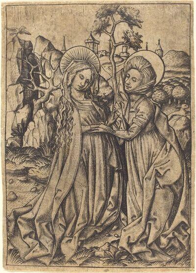 Master E.S., 'The Visitation', ca. 1450/1460