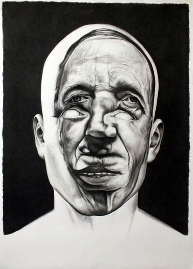 Christophe Avella-Bagur, 'Face FS Black Manner 2', 2012