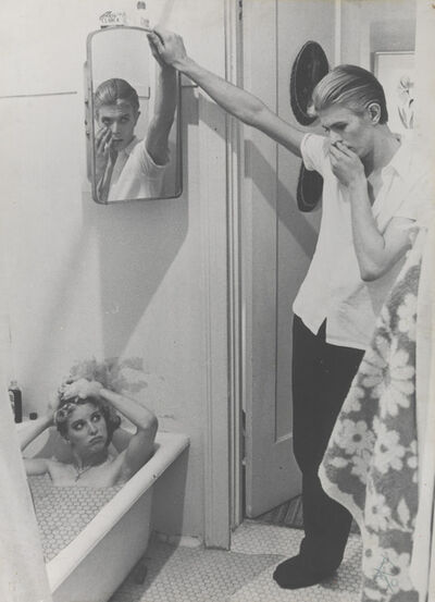 David Bowie, 'Photo-collage by David Bowie of manipulated film stills from The Man Who Fell to Earth', 1975-1976