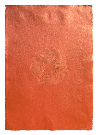 Mohammed Kazem, 'Acrylic on Scratched Paper (Copper) ', 2008