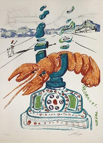 Salvador Dalí, 'Cybernetic Lobster Telephone', 1975