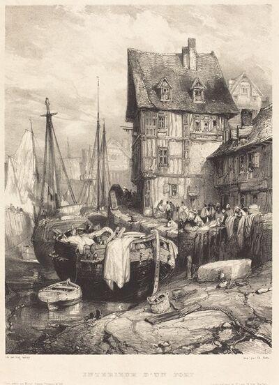 Eugène Isabey, 'Intérieur d'un Port', 1833