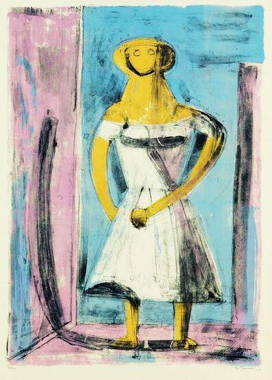 Rufino Tamayo, 'Mujer India', 1959