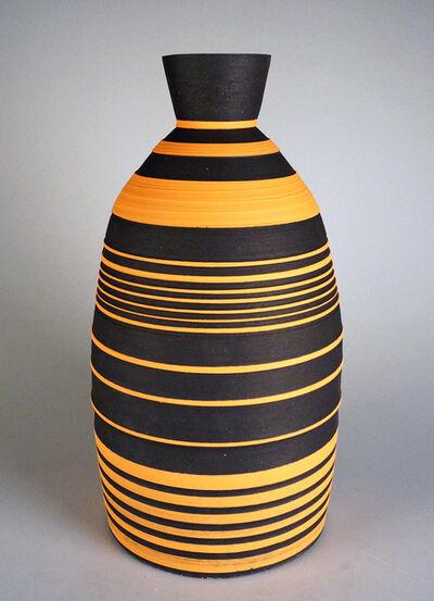 Shane Lutzk, 'Orange and Black Vase', 2018