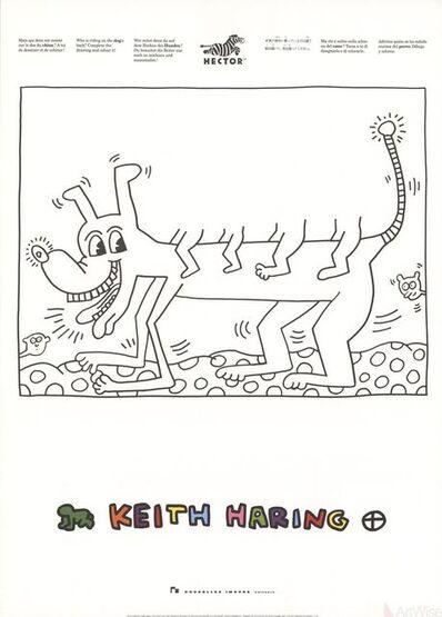Keith Haring, 'Untitled (Dog)', 1991