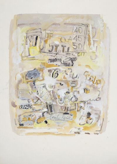 Sarah Grilo, 'Sin título', 1990