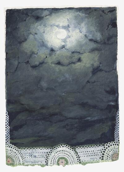 Robert Zakanitch, 'Doily Moon', 2015