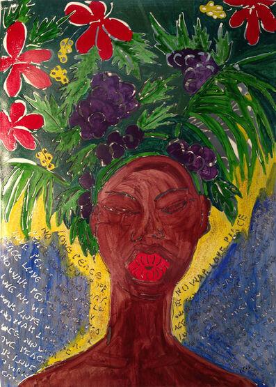 Sokari Douglas Camp, 'Kiss Love Peace No War'