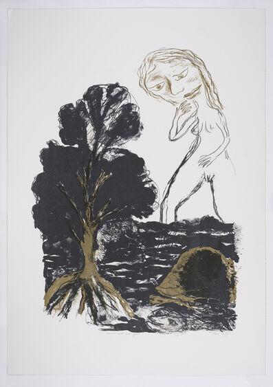 Ken Kiff, 'Woman and Sea', 1986