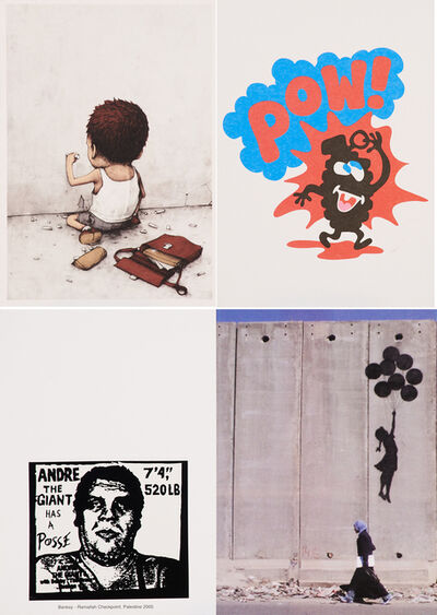 dran, 'I Have Chalks (Unfinished) / POW / Ramallah Checkpoint, Palestine'