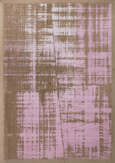 Eric Baudart, 'Millimetré graph Paper CMYK (magenta)', 2017