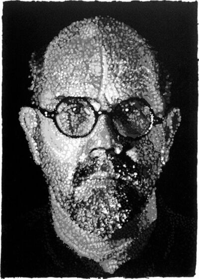 Chuck Close, 'Self-Portrait, Pulp', 2001