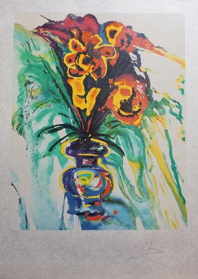 Salvador Dalí, 'Fleurs Surréaliste Gala's Bouquet', 1980