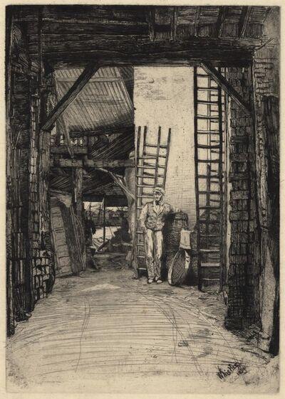 James Abbott McNeill Whistler, 'The Lime-Burner.', 1859