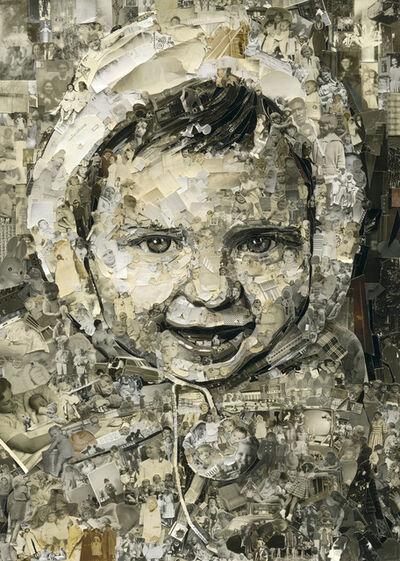 Vik Muniz, 'Vik, 2 Years Old, Album', 2014