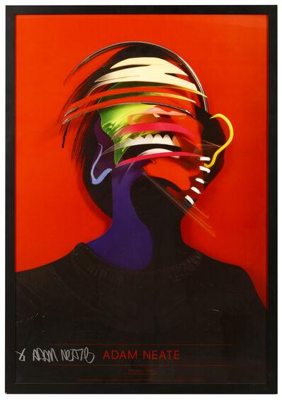 Adam Neate, 'Red Dimensional Portrait', 2011