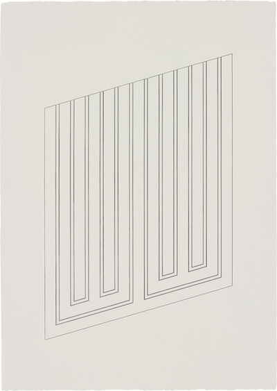 Donald Judd, 'Untitled: one plate', 1983-85/1988