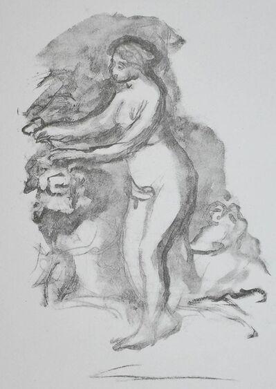 Pierre-Auguste Renoir, 'Femme au cep de Vigne (Woman by the Grape Vine)', 1919