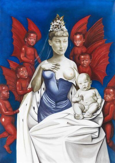 Marianna Gartner, 'Madonna & Child (after Jean Fouquet)', 2015