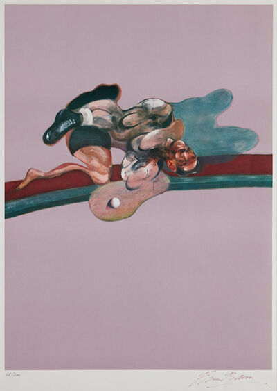 Francis Bacon, 'Triptych (After the Left Panel of Triptych, 1971, In Memory of George Dyer)', 1975