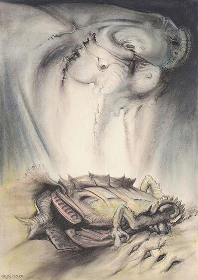 James Gleeson, '(Evolving animal)', 1980