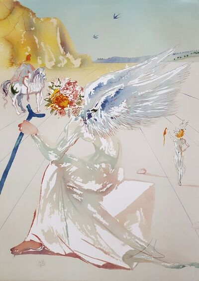 Salvador Dalí, 'Helen of Troy (Angel with Wand)', 1977