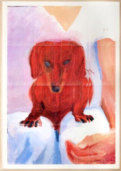 David Hockney, 'Portrait of Stanley', 1995