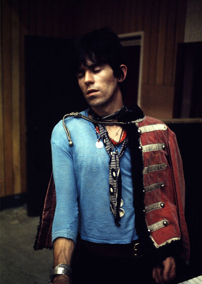 Gered Mankowitz, 'Keith Richards in Blue'