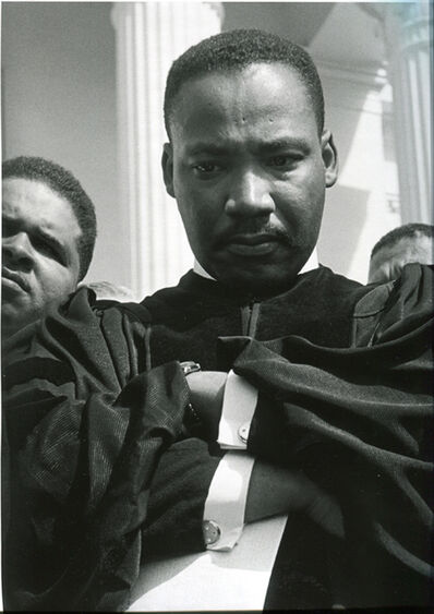 Charles Moore, 'Martin Luther King Jr., Montgomery, Alabama', 1960