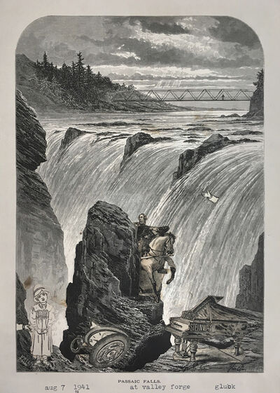 Nathan Gluck, 'Passaic Falls at Valley Forge', 1941