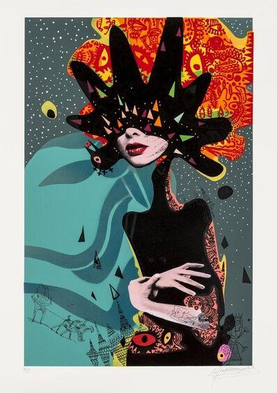 Miss Bugs, 'Her Brain Thinks Like a Bomb (Blue)', 2016