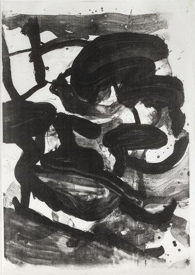 Willem de Kooning, 'Untitled (Large Sumi Brushstrokes)', 1970
