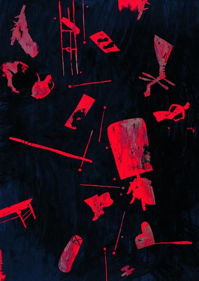 Wang Huai-Qing, 'Revel (Han Xizai's Night Revel Series-4)', 2006