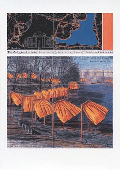 Christo, 'The Gates (m)', 2003