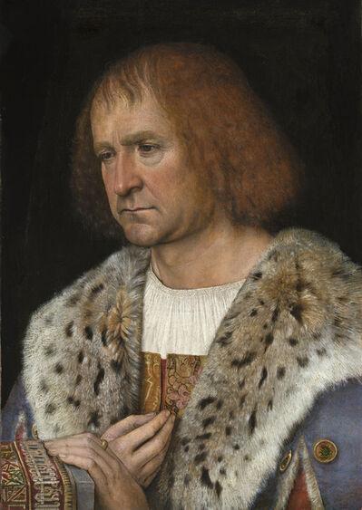 Michel Sittow, 'Portrait of Diego de Guevara (?)', ca. 1515/1518