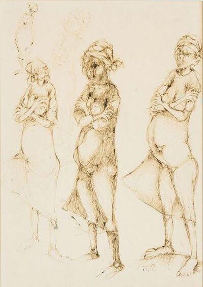 Dumile Feni, 'Three Pregnant Women', 1967