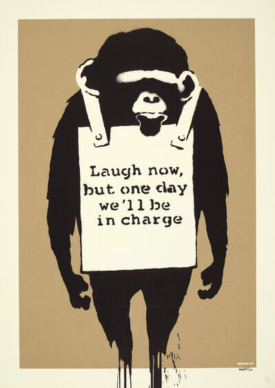 Banksy, 'Laugh Now', 2005