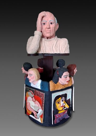 Sandy Kaplan, 'Picasso and His Muses', 2018