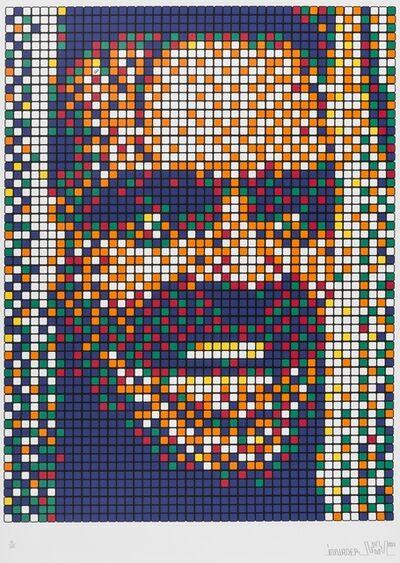 Invader, 'Rubik Kubrick The Shining (Jack)', 2007