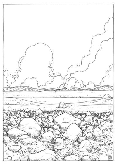 Jared Muralt, 'Smoke On The Horizon', 2014
