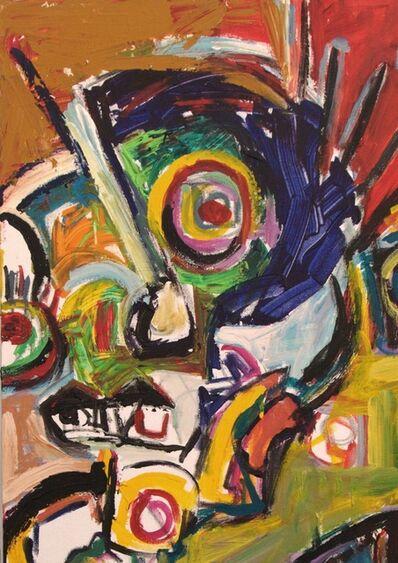 Parmis Sayous, 'The rider on the bird', 2008