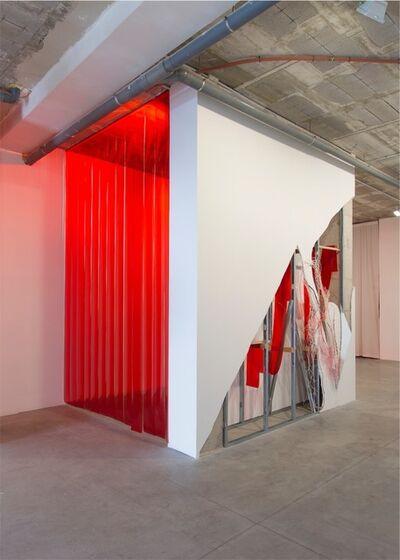 Daiga Grantina, 'Thérèse in Red', 2016