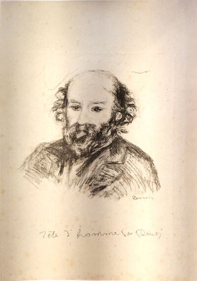 Pierre-Auguste Renoir, 'Paul Cézanne', ca. 1902