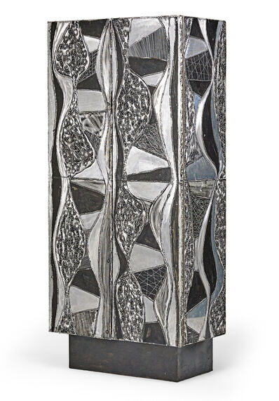 Paul Evans, 'Rare and exceptional Argente cabinet, New Hope, PA', 1960s
