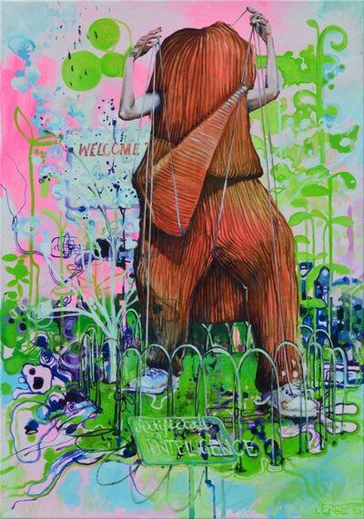 Serge Nyfeler, 'stay in the zoo!', 2016