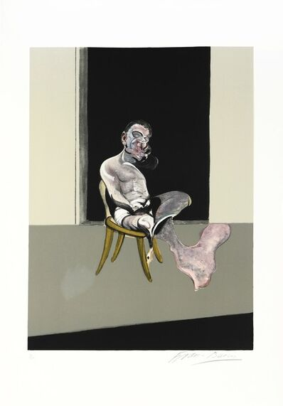 Francis Bacon, 'Francis Bacon, Triptych August 1972, 1989 (Right Panel), lithograph, signed, 1989', 1989