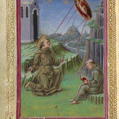Taddeo Crivelli, 'The Stigmatization of Saint Francis', 1469