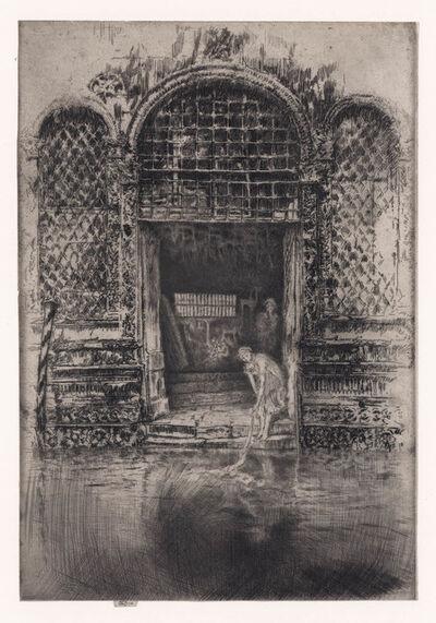 James Abbott McNeill Whistler, 'The Doorway.', 1880