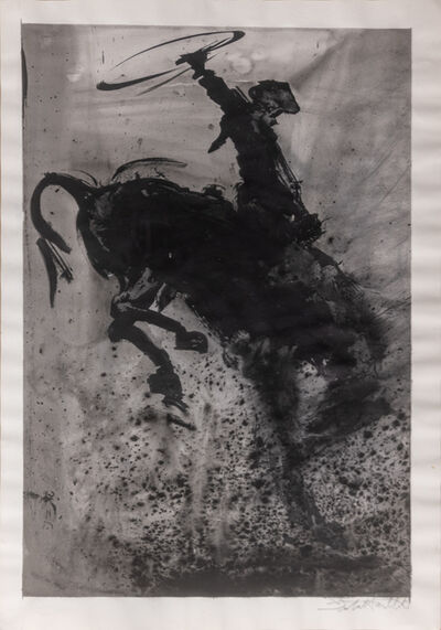Richard Hambleton, 'Horse and Rider', 2004